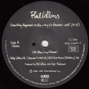 Phil Collins- Something Happened On The Way To Heaven