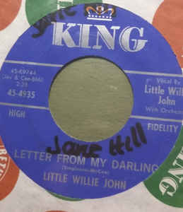 Little Willie John-  Fever