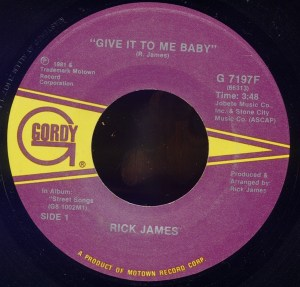 Rick James – Give It To Me Baby