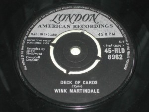 Wink Martindale - Deck Of Cards
