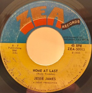 Jesse James- I Need You Baby/ Home At Last
