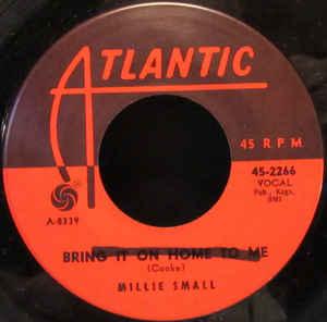 Millie Small- I've Fallen In Love With A Snowman/ Bring It On Home To Me