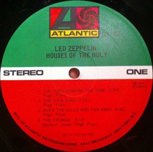 Led Zeppelin- Houses Of The Holy