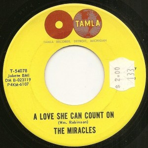 The Miracles- A love She Can Count On