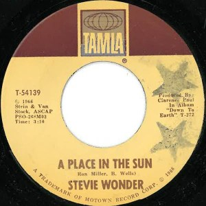 Stevie Wonder – A Place In The Sun / Sylvia
