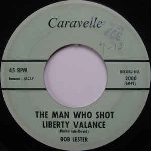 Richard Moore/ Bob Lester- Snap Your Fingers/ The Man Who Shot Liberty Valance