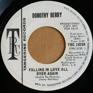 Dorothy Berry – Falling In Love All Over Again