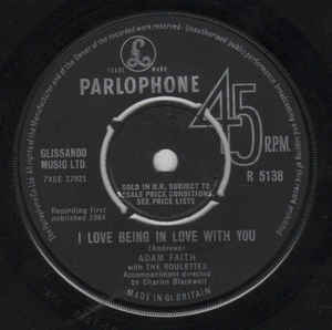 Adam Faith With The Roulettes- It's Alright