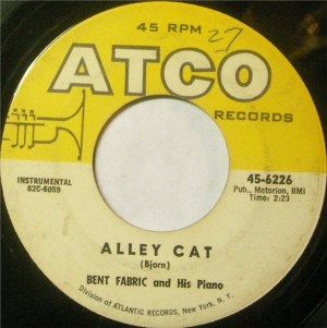 Bent Fabric And His Piano- Alley Cat