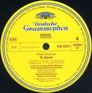 Brahms, Bruckner- Karajan- Ein Deutsches Requiem/ Te Deum