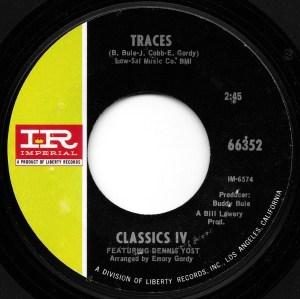 Classics IV- Traces/ Mary, Mary Row Your Boat