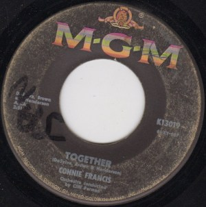 Connie Francis- Together/ Too Many Rules
