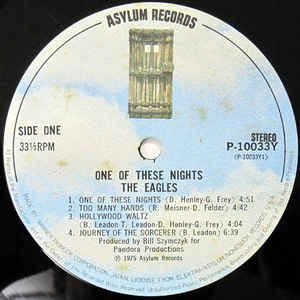 Eagles- One Of These Nights