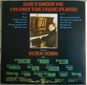 Elton John- Don't Shoot Me I'm Only The Piano Player