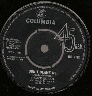 Frank Ifield- Don't Blame Me