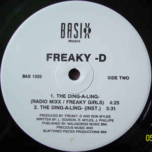 Freaky-D- The Ding-A- Ling