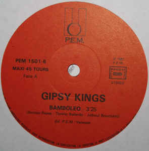 Gipsy Kings- Bamboléo/ Djobi- Djoba