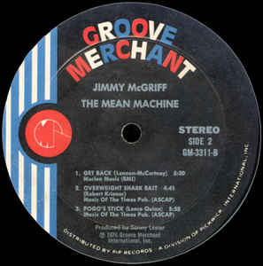 Jimmy McGriff- The Mean Machine