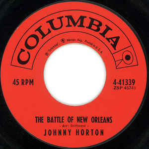 Johnny Horton- The Battle Of New Orleans/ All The Love Of A Girl