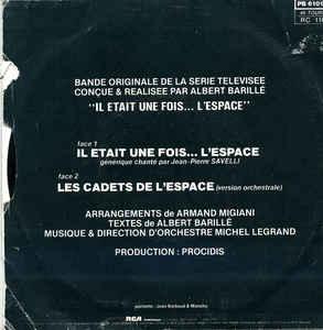Michel Legrand- Il Était Une Fois... L'Espace (Bande Originale De La Série Télévisée)
