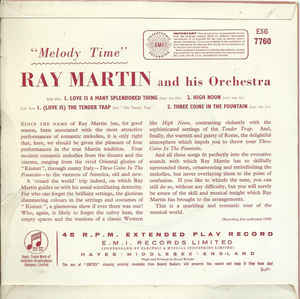 Ray Martin And His Orchestra- Melody Time