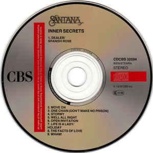 Santana- Inner Secrets