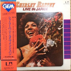 Shirley Bassey- Live In Japan