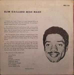 Slim Gaillard- Mish Mash