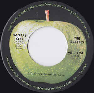 The Beatles- Kansas City/ I'll Follow The Sun