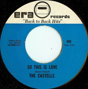 The Castells- So This Love/ Sacred