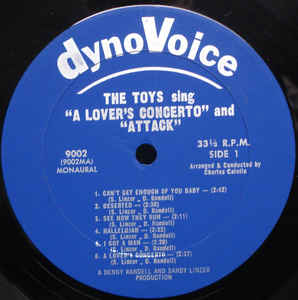 "The Toys- The Toys Sing ""A Lover's Concerto"" And ""Attack"""