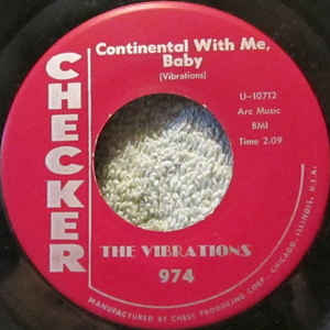 The Vibrations- Continental With Me, Baby/ The Junkernoo