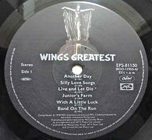 Wings- Wings Greatest
