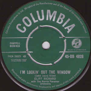 Cliff Richard- I'm Lookin' Out The Window/ Do You Want To Dance