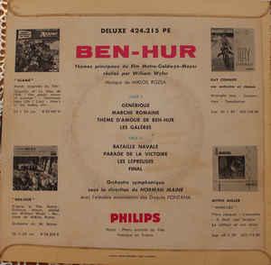 Miklos Rozsa, Orchestre Symphonique, Norman Maine- Ben Hur