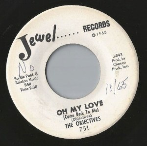 The Objectives- Oh My Love (Come Back To Me)/ Love Went Away
