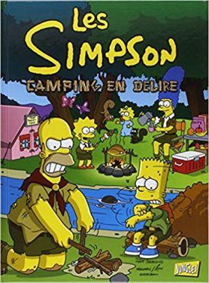 Les Simpson, Tome 1 : Camping en délire de Matt Groening & Emilie Saada