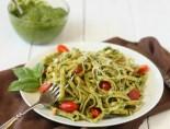 Pesto with linguine