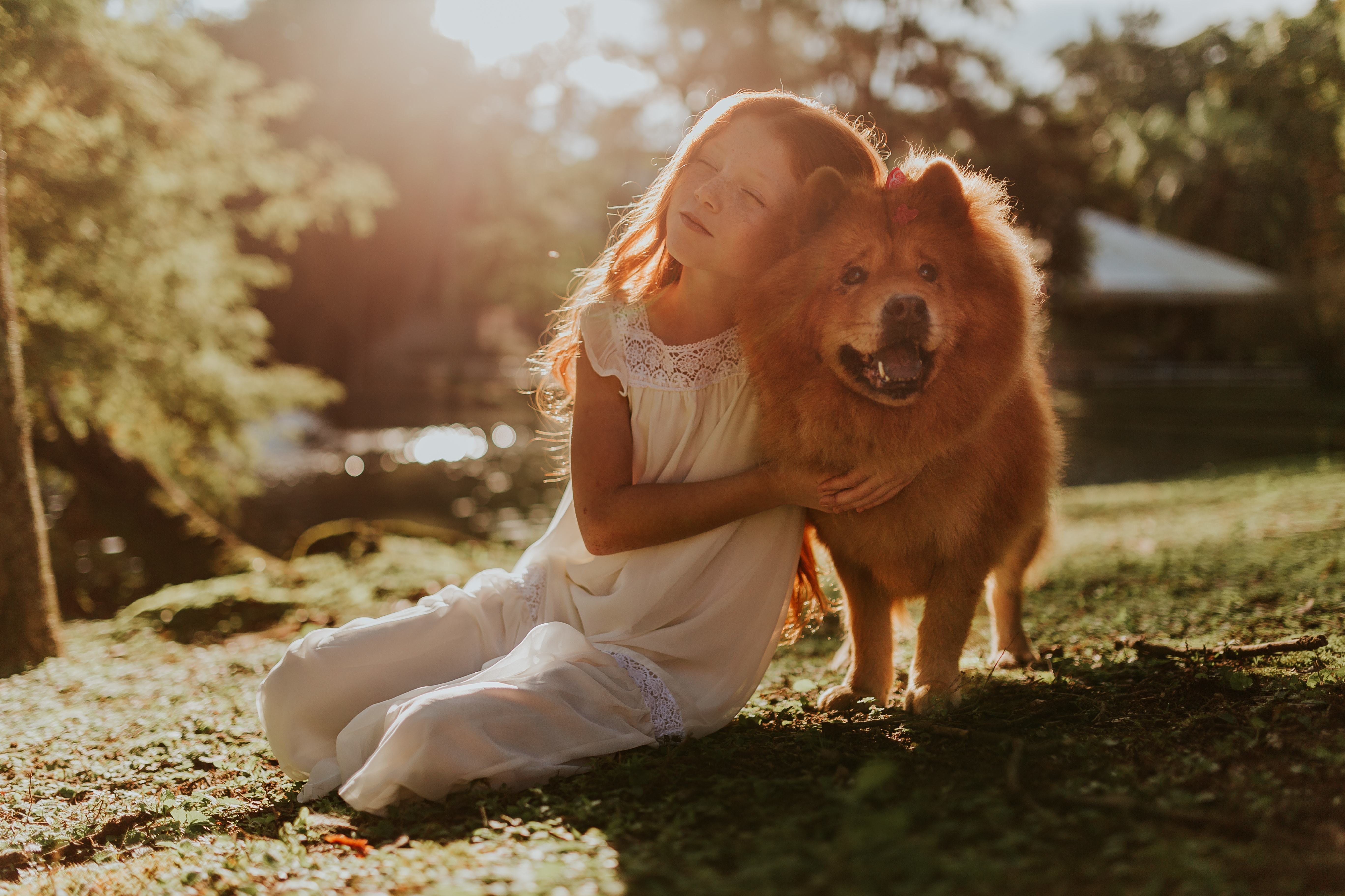 Dog Says I Love You