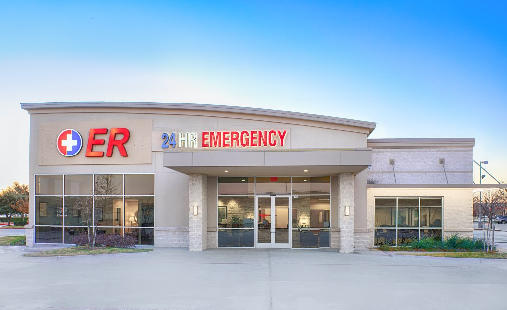 Marketing Photos for The Colony ER taken on location on January 12, 2018