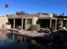 Desert home back after paint job