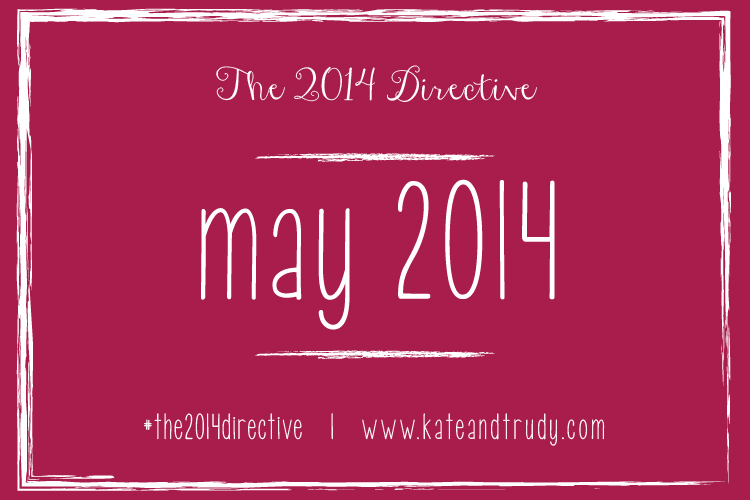 May Is ME Month! {The 2014 Directive}
