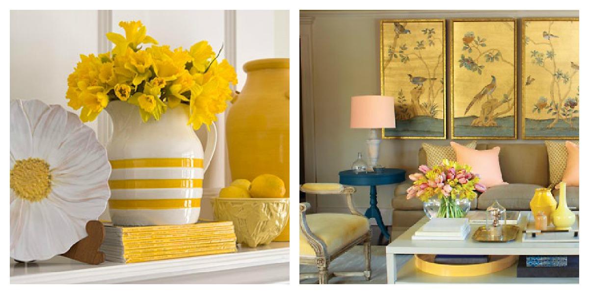 Yellow Accessories Kitchen