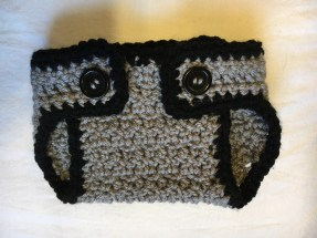 Front of diaper cover