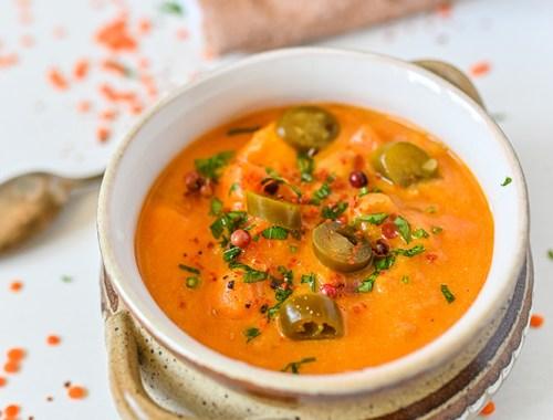 Supă de cartof dulce