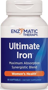 enzymatic therapy ultimate iron supplement
