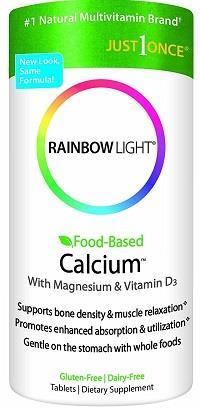 rainbow light food based calcium