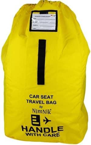 car seat bag for air travel