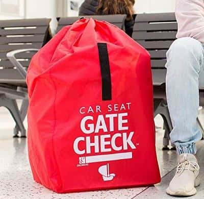 airplane car seat bag