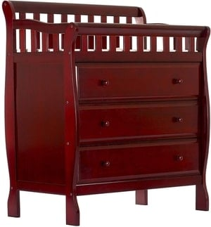 cheap changing table dresser